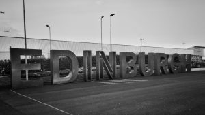 aéroport Edimbourg