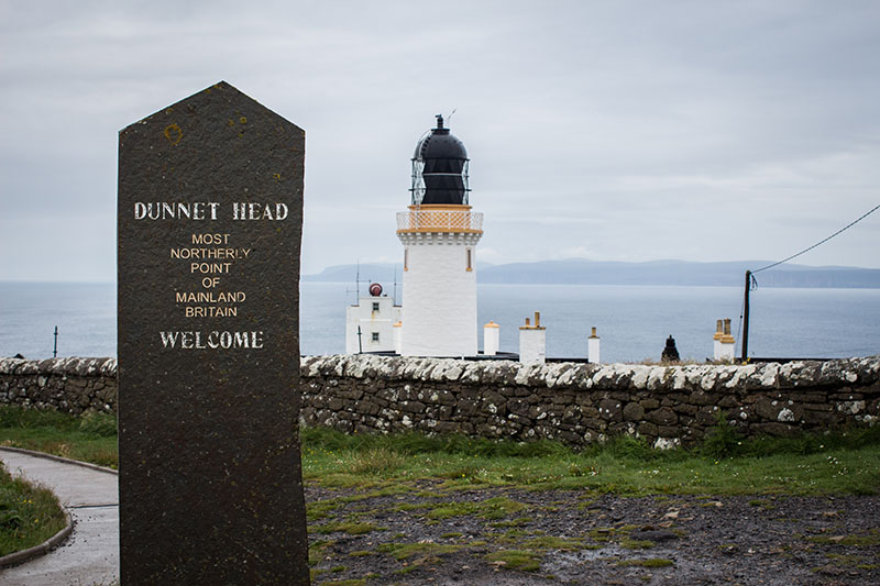 Dunnet Head - Le Nord-Est de l'Ecosse en van