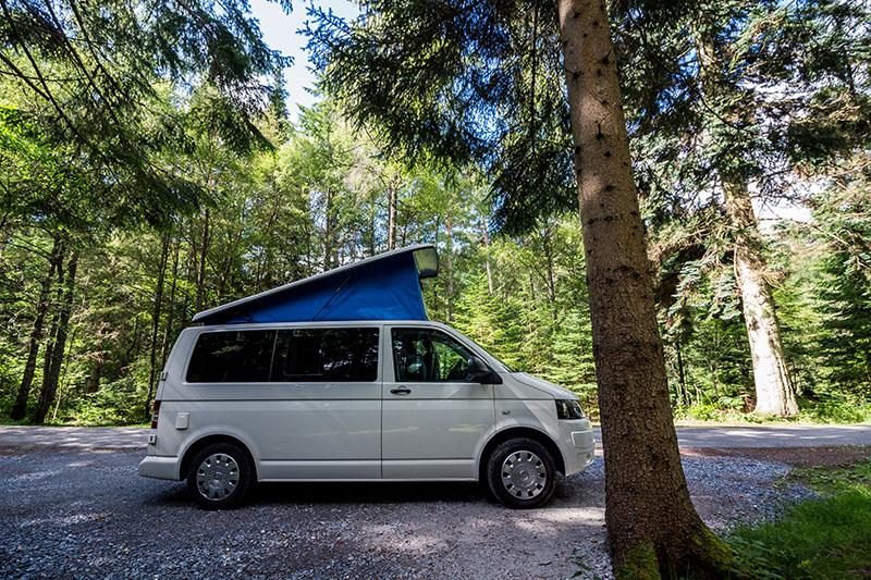 Van - Voyage au Nord-Est de l'Ecosse en van