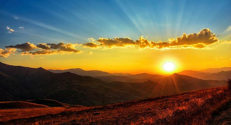 soleil ecosse