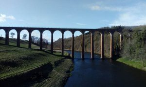 Photo du leaderfoot viaduct - Borders