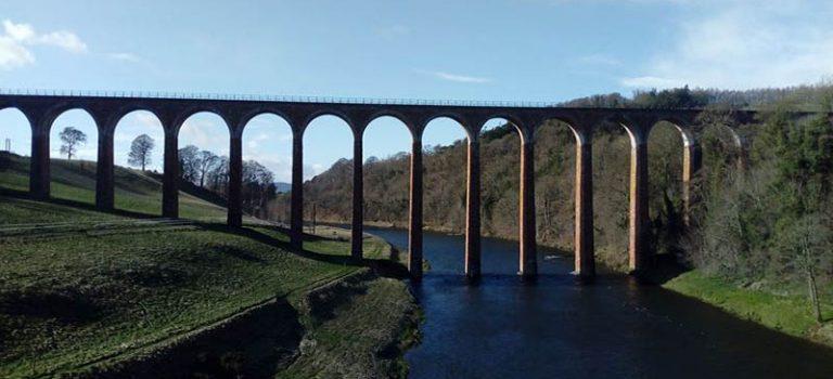 Photo du leaderfoot viaduct - Borders