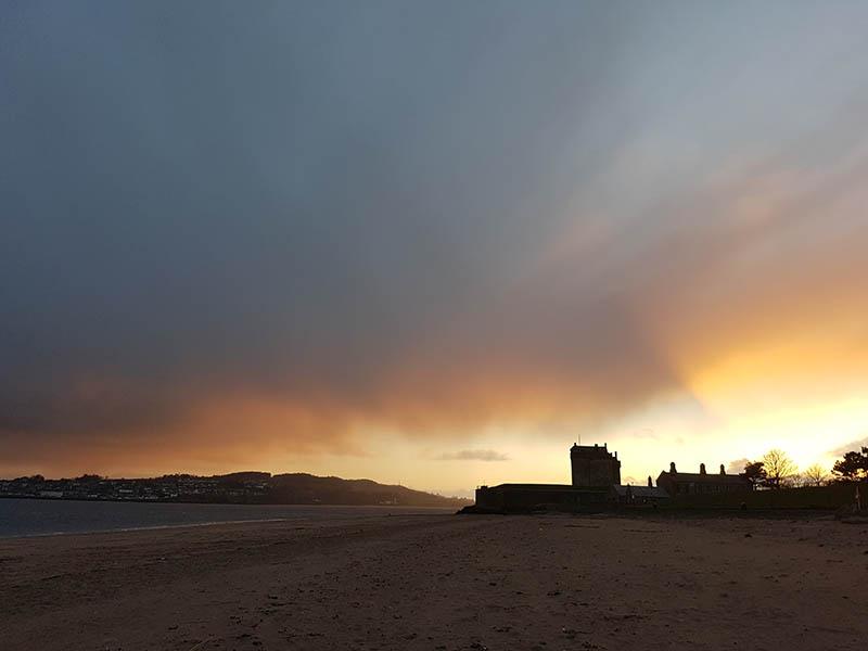 photo du chateau de Broughty Ferry