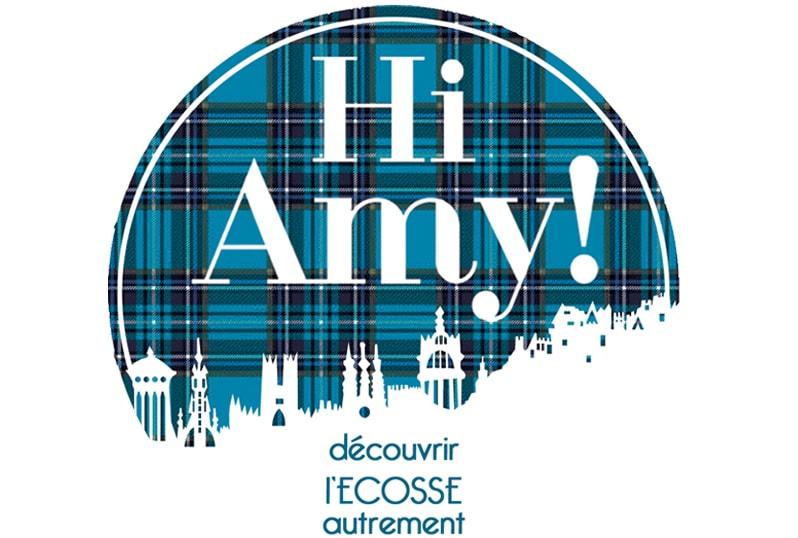 HI Amy!  - Découvrir l'Ecosse autrement (logo)